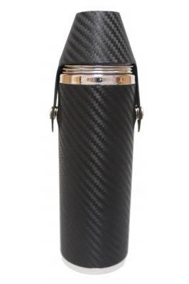 10oz Carbon Fibre Hunter Flask