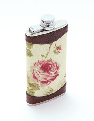 4oz Slim line Rose Hip Flask