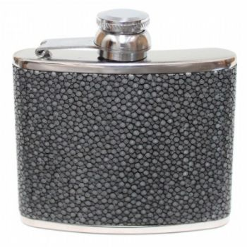4oz Stingray Leather Hip Flask
