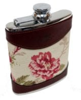 6oz Hip Flask Rose