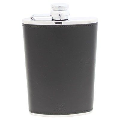 8oz Black Hip Flask