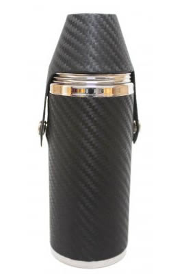8oz Carbon Fibre Hunter Flask
