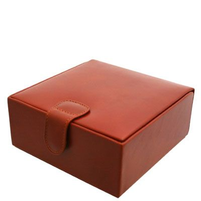 Large Leather Jewellery Box