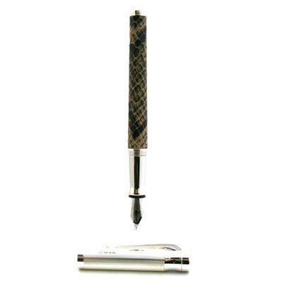 Cobra Leather Fountain Pen