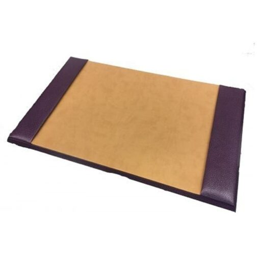 Purple Leather Desk Blotter