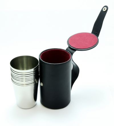 Stainless Steel Stirrup Cups