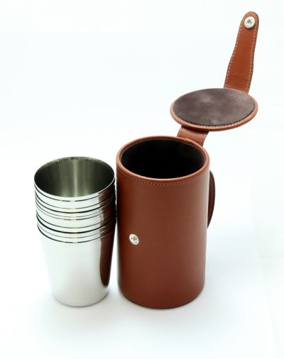 shot cartridge stirrup cups