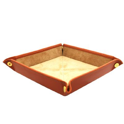 Tan Travel Tray