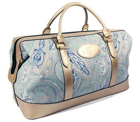 Blue Weekend Bag Paisley