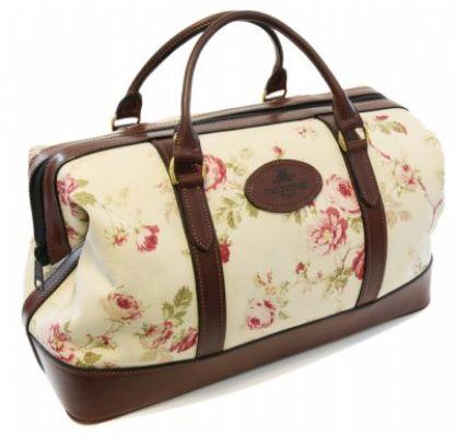 Canvas Weekend Bag Rose