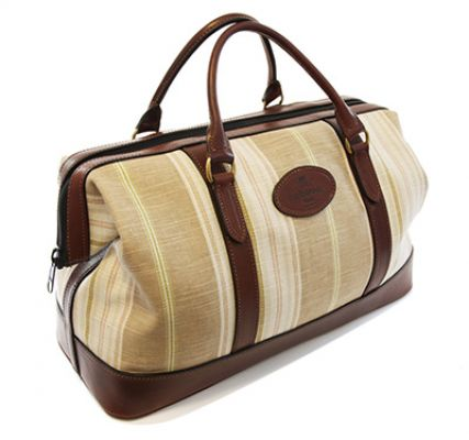 Luxury Weekend Bags, Striped, from Luxury Leather Gifts
