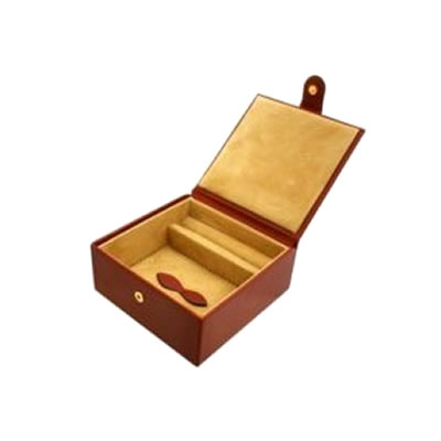 Chestnut Large Jewellery Box