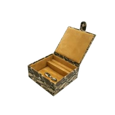 Cobra Natural Effect Large Jewellery Box