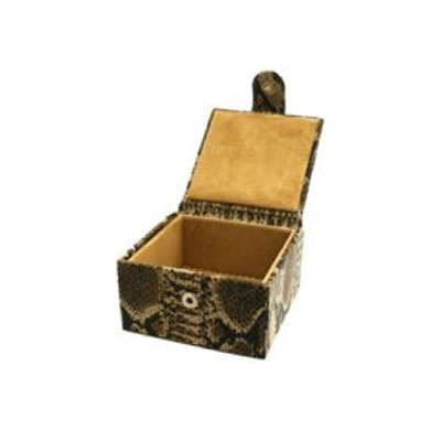 Small Cobra Jewellery box open
