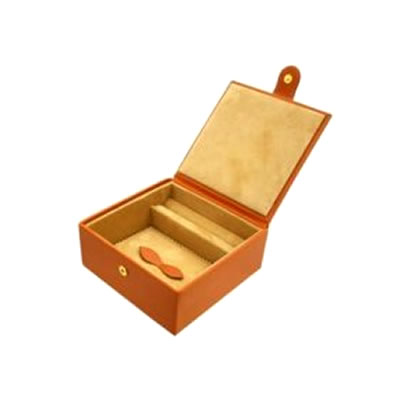 Tan Large Jewellery Box
