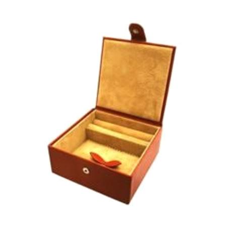 Tan Medium Jewellery Box
