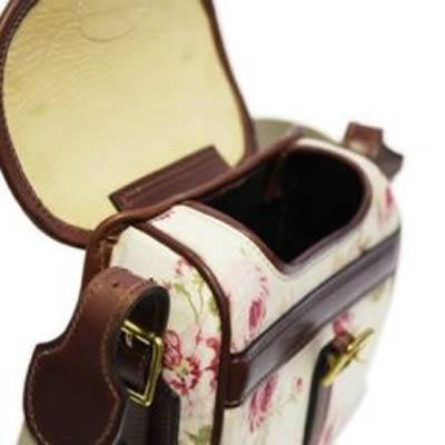 Medium Rose Patterned Shoulder Bag