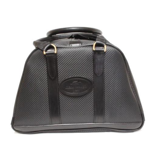 Black Carbon Fibre Helmet Bag