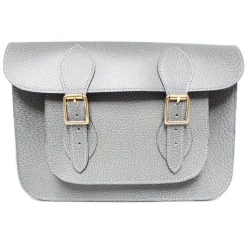 11 inch Grey Pastel Satchel