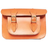 11 inch Orange Pastel Satchel
