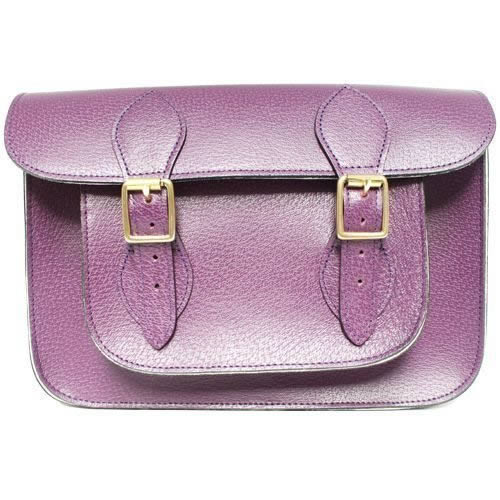 11 inch Purple Pastel Satchel