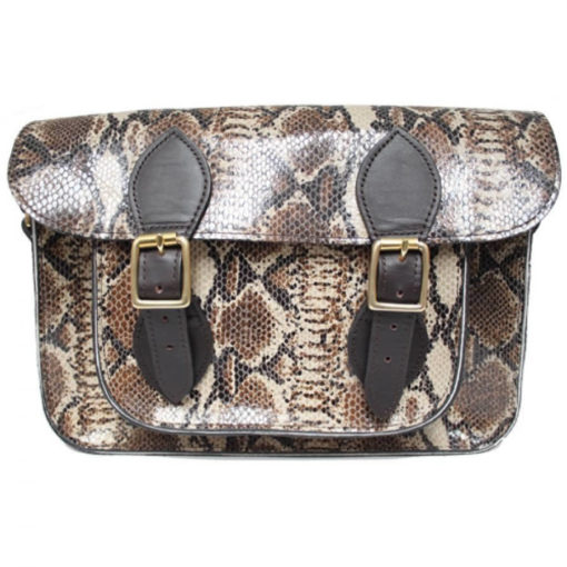 13 inch Cobra Natural Satchel