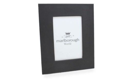 Black 7×5 Leather Photo Frame
