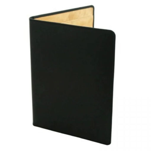 Black Leather Conference Folder