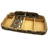 Cobra Natural Effect Leather Night Tray