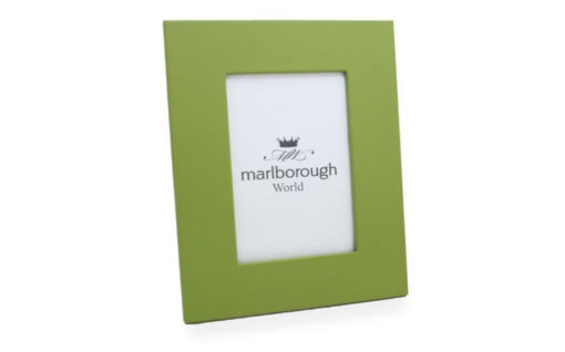 Green 7×5 Leather Photo Frame