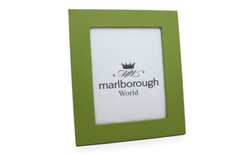 Green 8×6 Leather Photo Frame