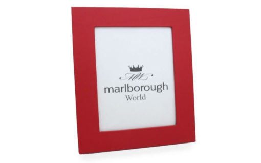 Red 8×6 Leather Photo Frame
